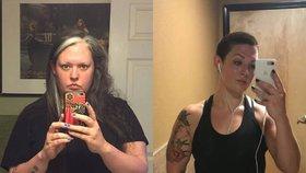 Přestala pít alkohol a zhubla 60 kilo! Teď těžko uvěříte, že už jí bude 40