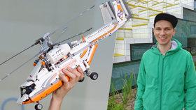 """Milan vymýšlí jako jediný Čech nové Lego: Krabice jsou mé děti, """"porody"""" jsou těžké"""