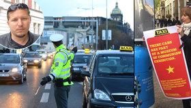 """Magistrát se podle Lukáše (36) mstí taxikářům kontrolami. """"Je to naivní,"""" tvrdí úřad"""