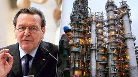 Exkancléř Schröder bude v Rusku brát osm milionů. Merkelové se jeho práce vůbec nelíbí