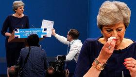 """Projev premiérky """"zbořil"""" komik. Mayové dal formulář s výpovědí, ochranka nikde"""