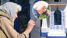 Česká babča se stala hitem internetu: Její krásné malby obdivují i v zahraničí
