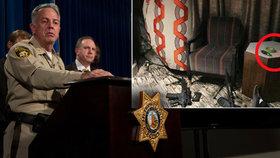 Po masakru ve Vegas našli v pokoji střelce lístek s čísly. Útok si propočítal