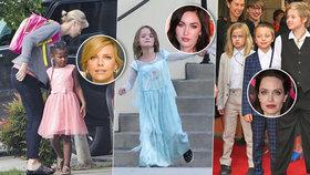 Oběti šílených matek? Celebrity syny oblékají jako dcery a obráceně!