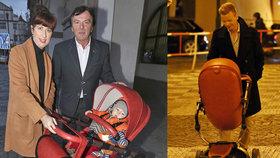 Nemanželský Trávníčkův syn Pavel Dytrt: Malého brášku vozí v kočárku!