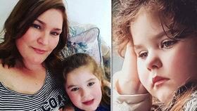 Emily menstruuje od 4 let, ve školce se jí posmívají, pláče maminka dívky, která trpí předčasnou pubertou
