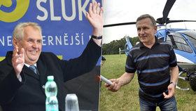 Čunek odmítl zaplatit Zemanovi cestu na Zlínsko. Ovčáček: Trapné, jedeme jinam