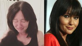 Brenda z Beverly Hills v slzách a s chomáči vlasů v rukách: Rakovina vás nikdy neopustí!