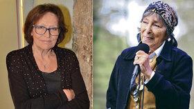 Hana Hegerová (85) porušila slib: Kvůli Martě Kubišové (74)