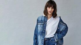 Džínová bunda: Můžete ji nosit k sukni, šatům i kalhotám různých střihů!