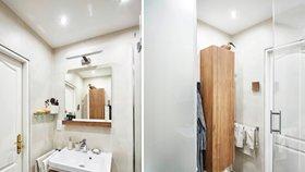 Neuvěříte, že tahle koupelna je v paneláku! Co dokáže čistý design a střízlivé barvy