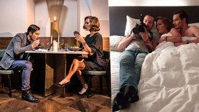Kraus se Strýcovou se fotili v posteli: Byla to hračka, zazněla pak pochvala