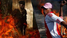 Bojkot voleb: Policie střílela do opozice, zabila nejméně tři protestující