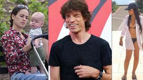 Mick Jagger má dítě s baletkou, ale... Načapali ho s novou dívkou (22)!