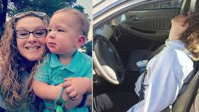 Erika (26) se předávkovala heroinem se synem v autě. Tohle musíte všichni vidět, prosí matka