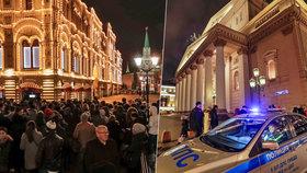 Panika v Moskvě: Hromadné výhrůžky bombami a až 5 tisíc evakuovaných
