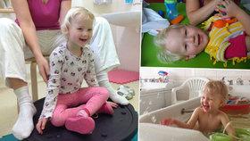 """Julinka (4) trpí syndromem """"andělských dětí"""". Krutou diagnózu se dozvěděli v plné čekárně"""