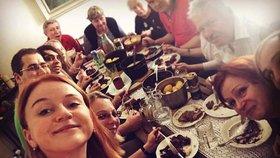 Maruška Doležalová ukázala rodinu: Těch je víc než Hujerů!