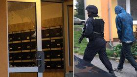 Manévry v Záběhlicích: Hooligans tu ohrožovali pistolí nájemníky, při útěku je zásahovka zatkla