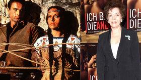 Zemřela filmová indiánka Ribanna! Odešla za Vinnetouem do nebe