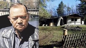 Hrušínského (†73) milovaná chata je opuštěná a podle místních chátrá