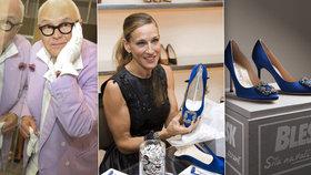 Vítěz dražby ikonických lodiček od Manola Blahnika: Mám úžasný dárek pro ženu!
