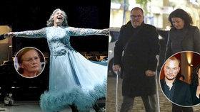 Preissová tančila na jevišti: Syn Martin přišel o berlích!