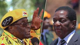 Puč v Zimbabwe? K metropoli míří tanky, armáda podporuje Mugabeho soupeře