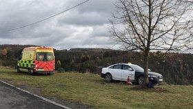 Tragédie v taxíku: Řidič za volantem zemřel, auto jelo do Vltavy! Hledaný spolujezdec utekl