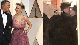 Čerstvě rozvedená Scarlett Johansson má už náhradu! S milencem přistižena při líbačce