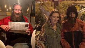 Bezdomovec dal ženě v nesnázích své poslední peníze: Neuvěříte, jak se mu odvděčila!