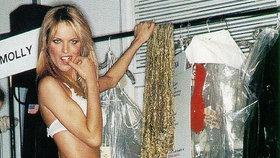 Celebrity na síti: Herzigová na Victoria´s Secret před 17 lety a šaty Williamsové