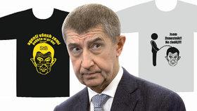 Za protibabišovská trička padla pokuta 25 tisíc. Aktivista prý vedl kampaň