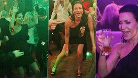 Partyšová to po krachu manželství roztočila: Pivo a tanečky v rytmu Slavíků