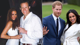 Fotky z první svatby Harryho snoubenky Meghan: Obřad na pláži, 4 dny pařba!