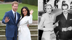 Zásnuby prince Harryho a americké herečky: Meghan ve stopách Grace Kelly!