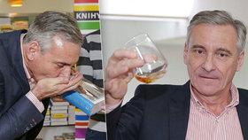 Ani kapka nazmar! Jan Čenský hltal whisky z dlaní!