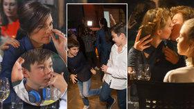 Střípky z Czechoslovak TopModel: Šeredová se rýpala v nose, její synové se prali a Mišík předvedl vášnivou líbačku