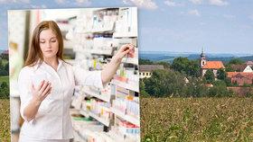 """Z venkova mizí lékárny. """"Přišli jsme o apatyku i lékaře,"""" běduje starosta"""