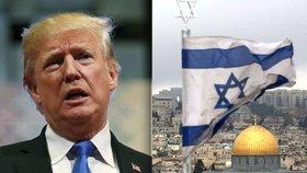 """""""Jde o vyhlášení války."""" Trump chce uznat Jeruzalém jako hlavní město Izraele"""