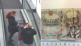 """Policie hledá muže, který zaplatil falešnou bankovkou: Byl na ní dokonce nápis """"Pro filmové účely"""""""