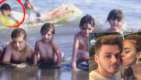 Byli pro sebe vždy určeni: Mladík se našel na dětské fotce snoubenky