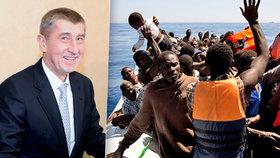Babiš odletěl do Bruselu jednat o migraci. Žalobu na Česko má za zvláštní