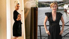 Jitka Schneiderová (44) těsně po koupeli: V župánku a bez make-upu!