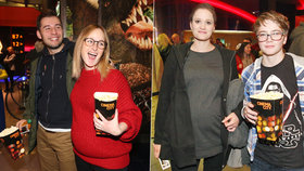 Těhotné Kocábová s Vágnerovou na premiéře StarWars: Jedna se zakulacuje, druhá je těsně před porodem!