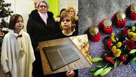 Za války na Vinohradech hlídala židovské děti: Vychovatelku Hanu zavraždili nacisté, Praha 2 jí odhalila pamětní desku