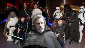 Ochrnutý Lukáš bojuje s vážnou nemocí. Nové Star Wars mu splnily přání