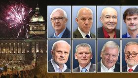 Novoroční projevy prezidentských kandidátů: Co mají na srdci soupeři Zemana?