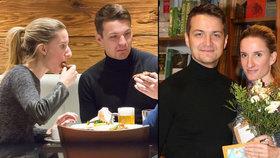 Adela Banášová s manželem Viktorem: Dopřávali si tatarák a pivečko