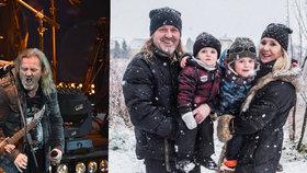 Rocker Pepa Vojtek: Na Silvestra chce mít klid a ticho! Stráví ho s početnou rodinou